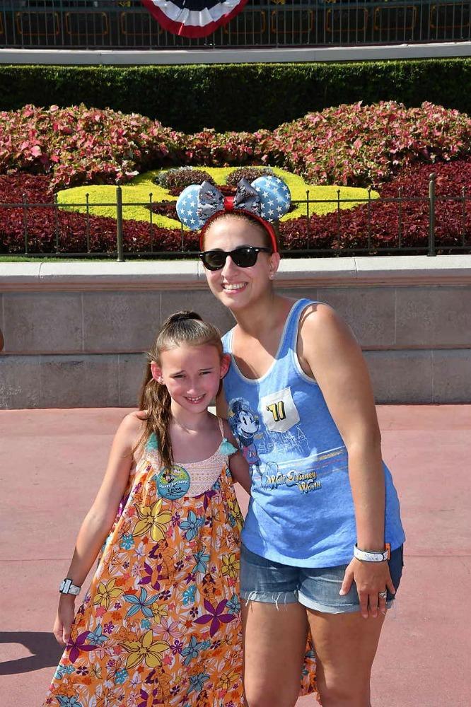 Walt Disney World Railroad Front Entrance Photo