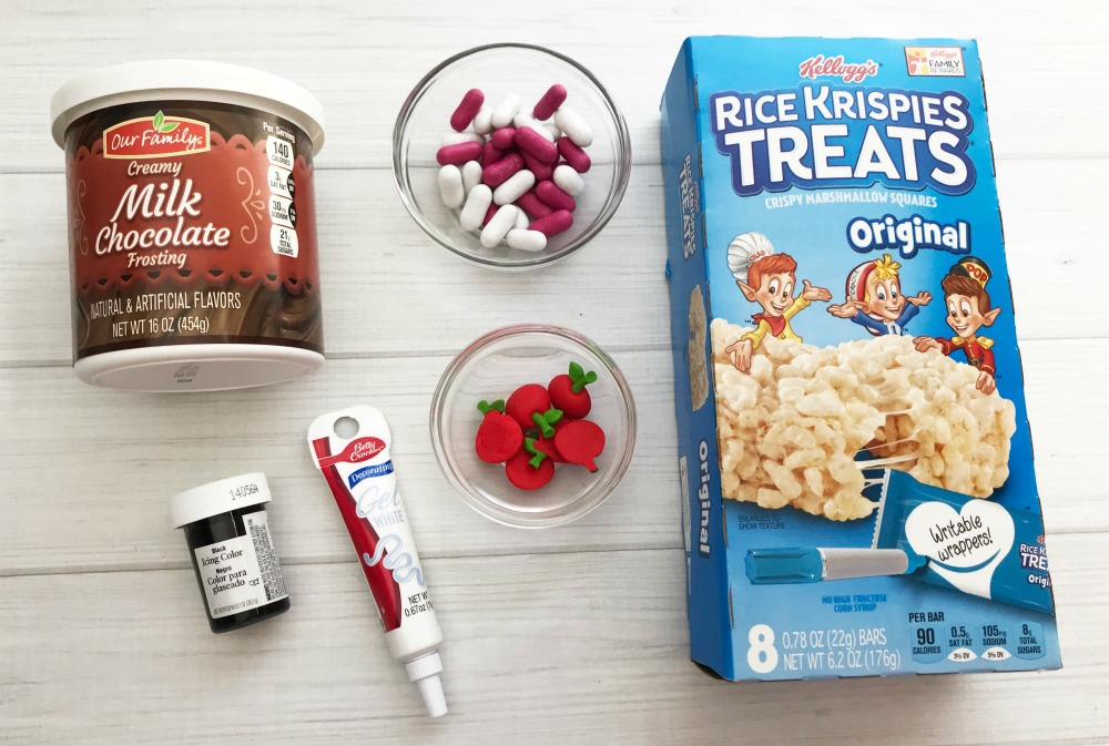 Chalkboard Rice Krispie Treats Supplies