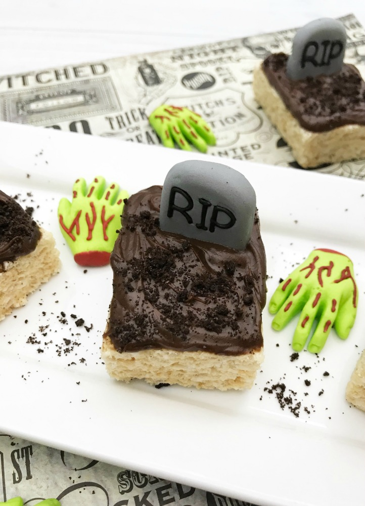 Graveyard Rice Krispie Treats Recipe Final 1