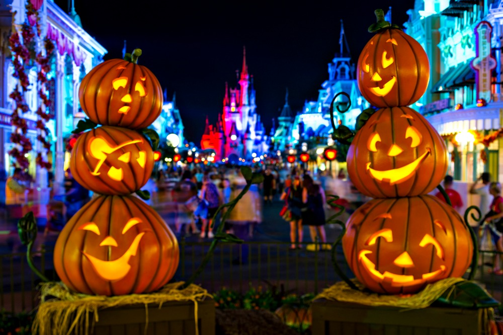 Main Street During Mickey's Not So Scary Halloween Party