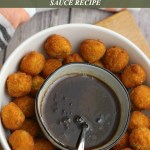 Maple Honey Cinnamon Dipping Sauce Perfect for Veggie Taters