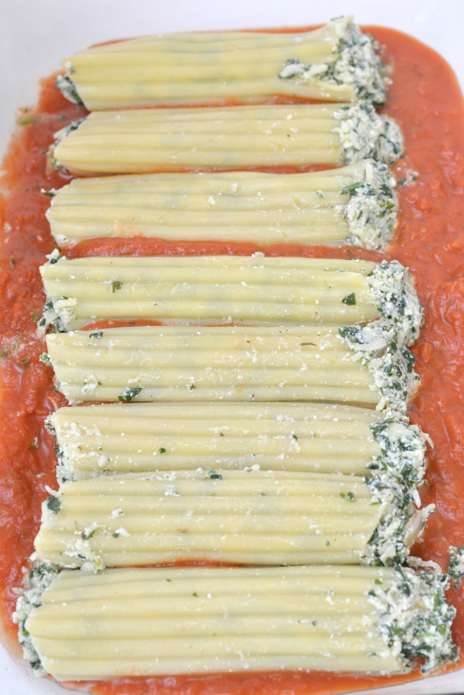 Spinach and Ricotta Manicotti Recipe Step 17