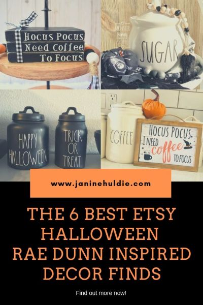 The 6 Best Etsy Halloween Rae Inspired Decor Finds