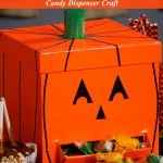 DIY Duck Tape Jack O'Lantern Candy Dispenser Tutorial