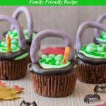 Witch Cauldron Cupcakes Recipe Tutorial