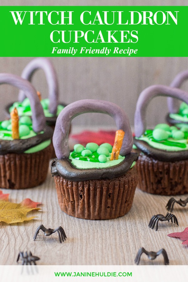 Witch Cauldron Cupcakes Recipe Featured Image