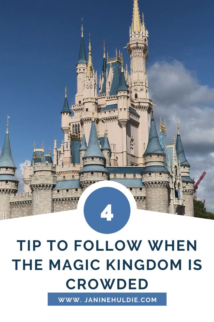 4 Tips to Follow When the Magic Kingdom Is Crowded