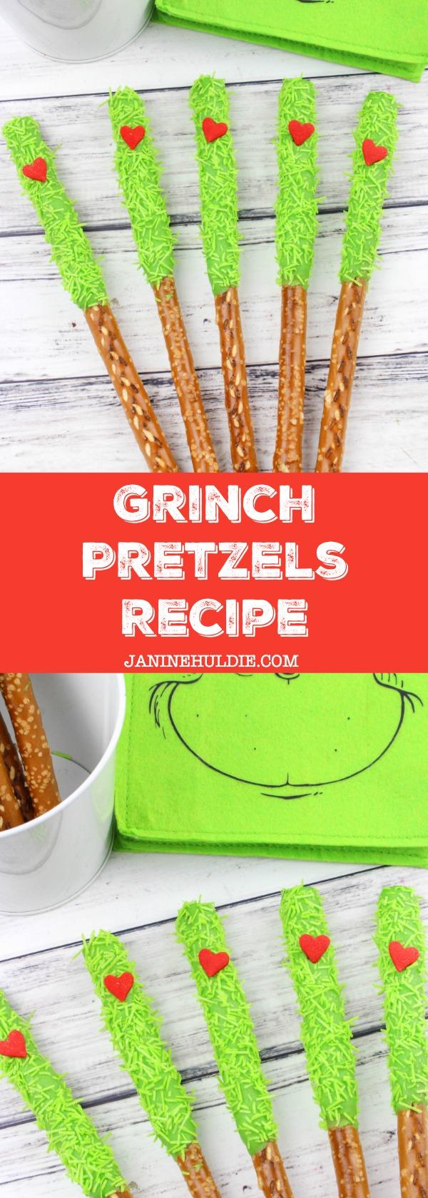 Grinch Pretzels Recipe