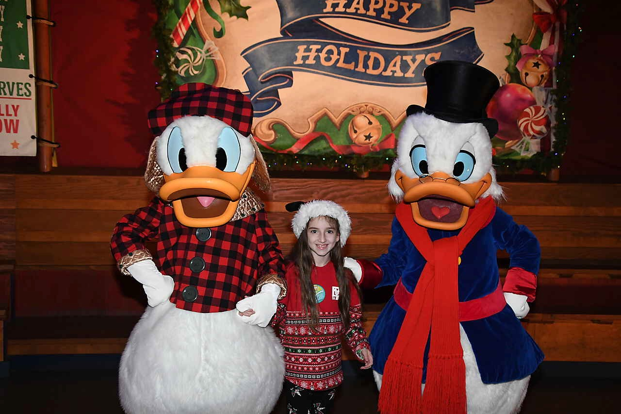 Mickey's Very Merry Christmas Party 2019 with Scrooge McDuck