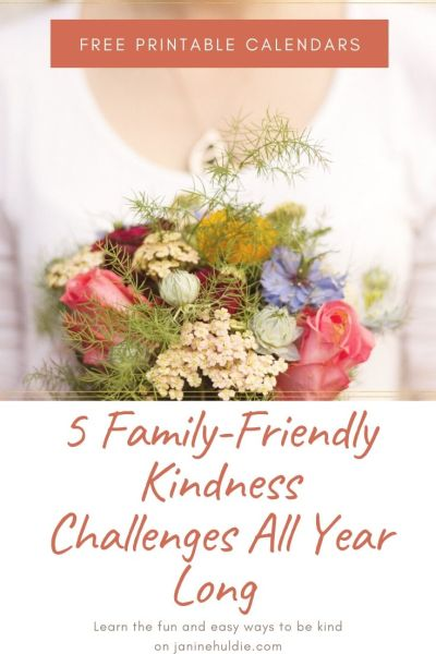 5 Family Friendly Kindness Challenges All Year Long