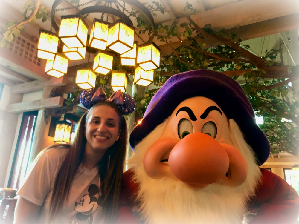 Disney World Storybook Dining with Grumpy