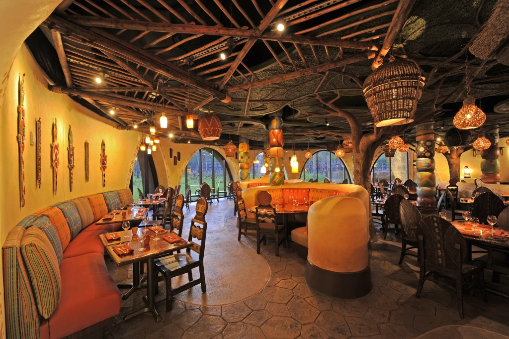 Sanaa Restaurant Disney World Animal Kingdom Lodge