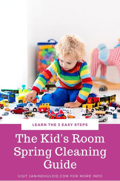 The Kid's Room Spring Cleaning Guide