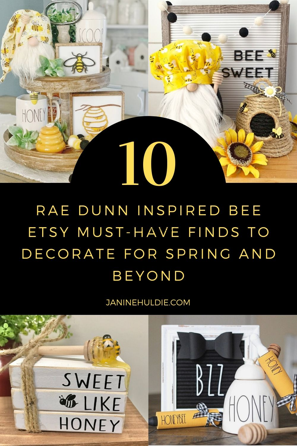 10 Rae Dunn Bee Etsy Must Have Finds