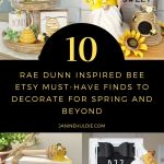 10 Rae Dunn Bee Etsy Must-Have Finds for Spring-Time and Beyond