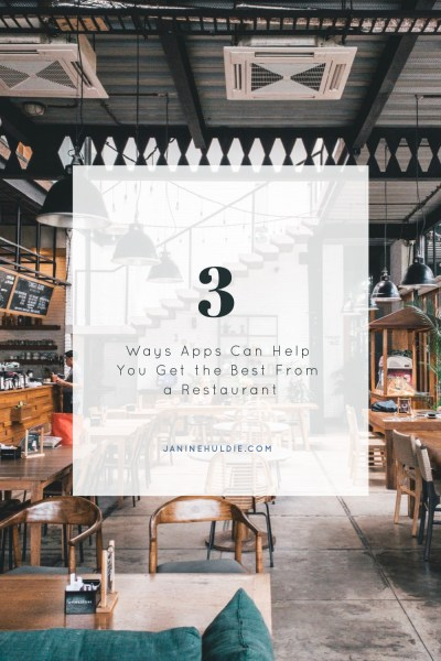 3 Ways Apps Can Help You Get the Best From a Restaurant
