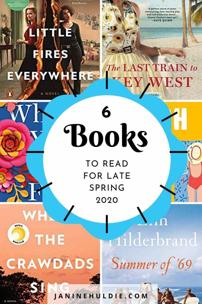 6 Books to Read for Late Spring 2020