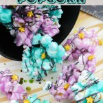 Galaxy Popcorn for a Galaxy, Far, Far Away Family-Fun Snack Tutorial