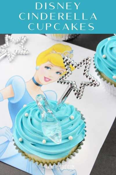 Disney Cinderella Cupcakes