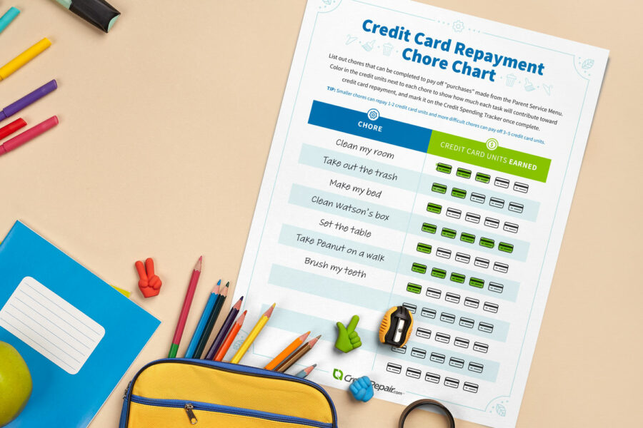 credit-card-repayment-chart-on-tan-table-with-colored-pencils-900x600