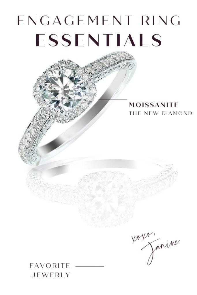 Engagement Ring Advice Moissanite
