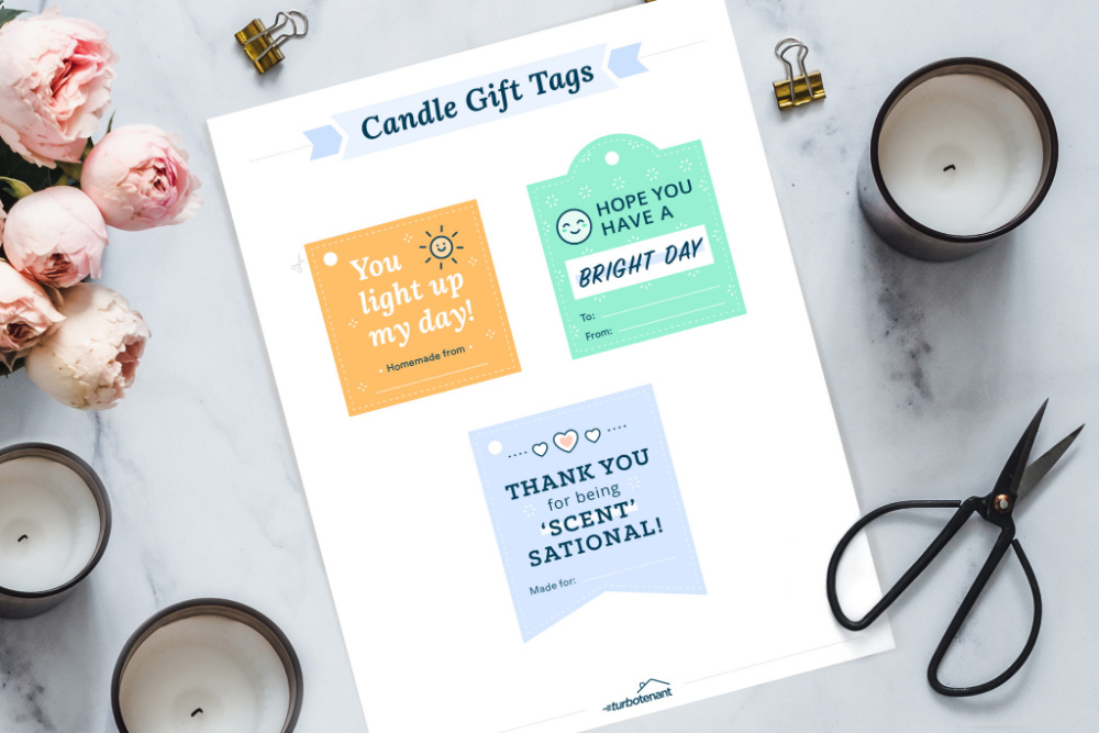 Candle Gift Tags