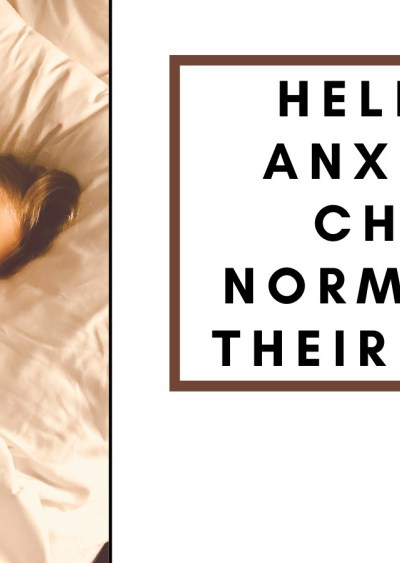 Help Anxious Children Sleep