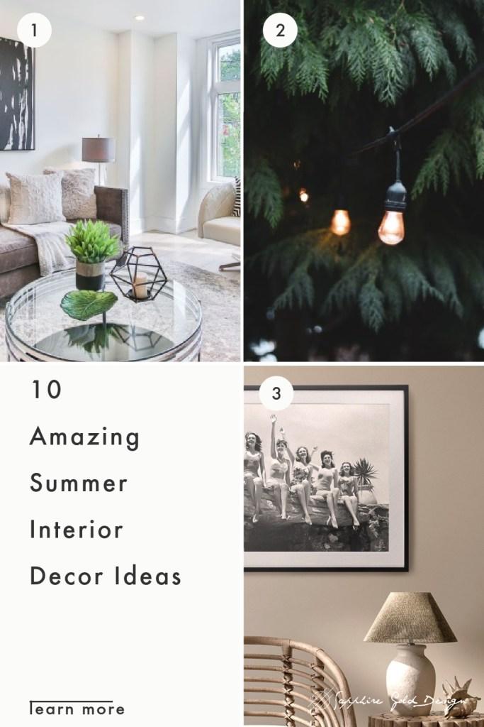 Summer Interior Decor Ideas