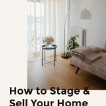 How to Stage and Sell Your Family's Home