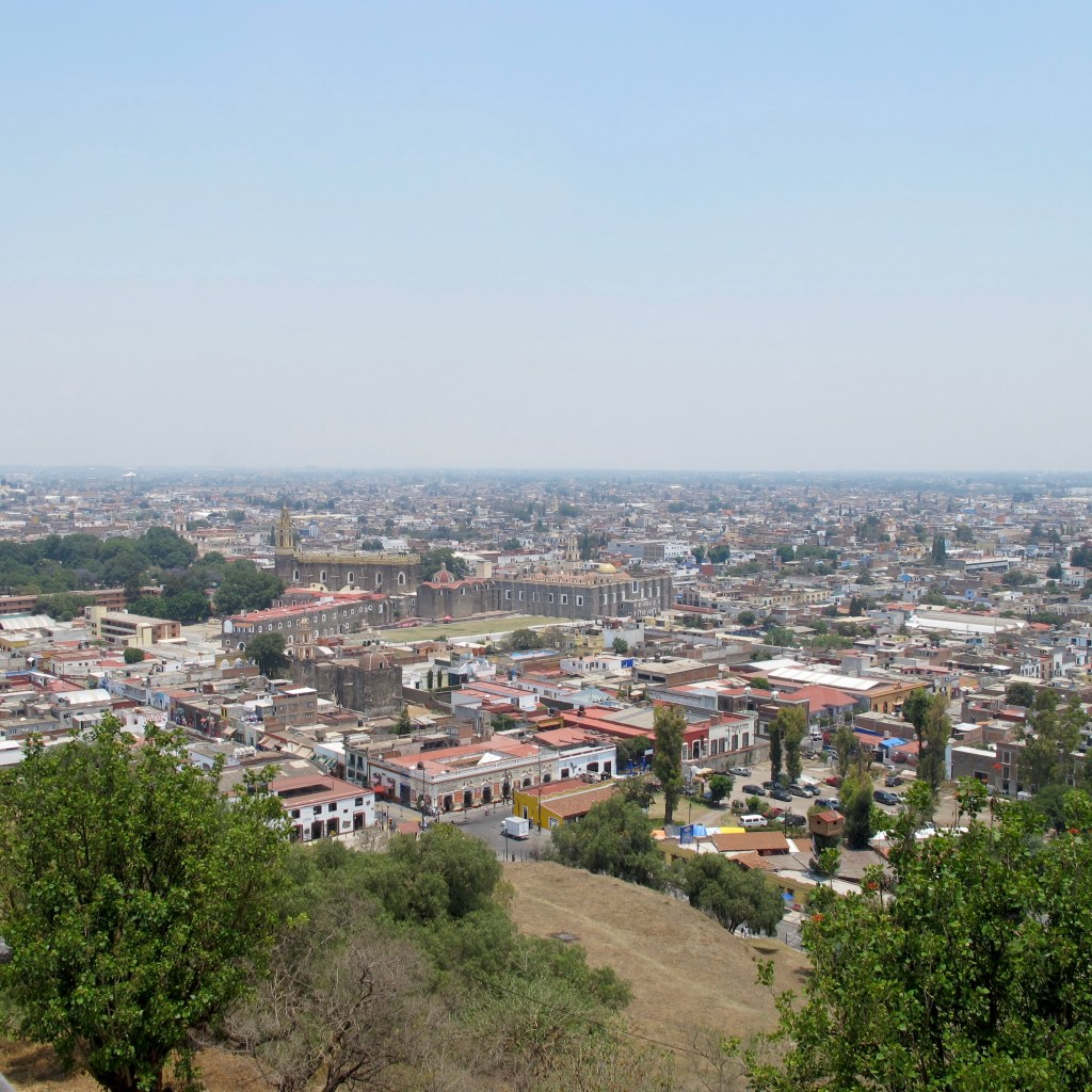 Cholula, Puebla is a fun day trip from Mexico City