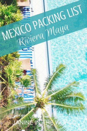 Mexico Packing List Riviera Maya - This is a comprehensive list of everything you need to pack for Cancun and the Riviera Maya (in your carry-on)! Whether you're hitting the beach in Tulum, exploring Mayan ruins at Chichén Itzá, or relaxing by the pool in Cancún, this Mexico packing list has you covered! #mexico #travelmexico #rivieramaya #packing