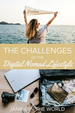 Living a digital nomad lifestyle definitely isn't too good to be true. It's a dream to wake up every morning knowing you have the freedom to spend your time however you wish! However, as rewarding as this lifestyle is, it's not without challenges. These are some of the biggest challenges I faced in my first year as a digital nomad (and how to handle them). Surprisingly, none of them have to do with packing! Click through to learn more. #digitalnomad #locationindependent #workonline #travel