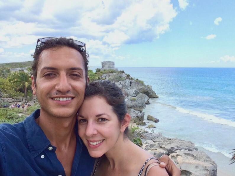Hector & Janine in Tulum