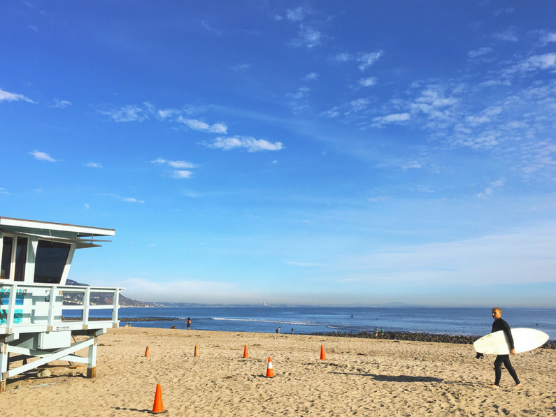Surfrider Beach is one of Malibu's most iconic points of interest.