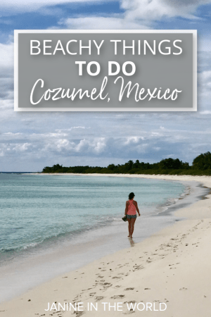 Discover all the best things to do in Cozumel, Mexico. From beaches, to excursions, shopping, and amazing resorts, there is plenty of fun to be had on Cozumel. #mexicotravel #mexico #travel #cozumel #rivieramaya