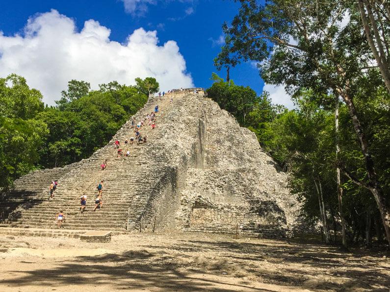 The Coba Ruins, Quintana Roo, Mexico