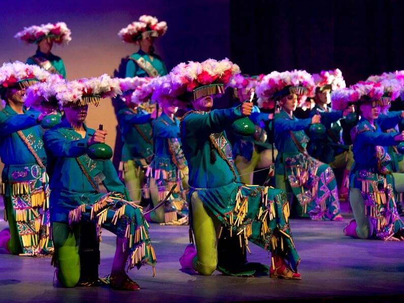 Ballet Folklorico, Mexico City