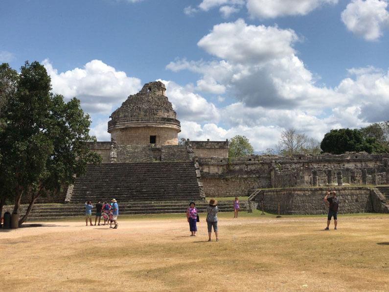 El Caracol structure at Chichen Itza, Mexico
