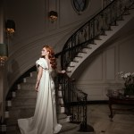Janique Eveningwear Editorial. Mother of the Bride dress
