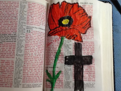 poppy John 15-13
