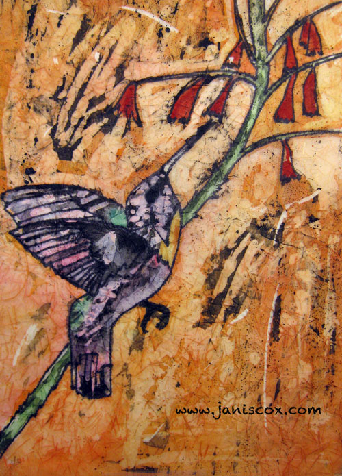 God Remains the Same - Hummingbird Batik