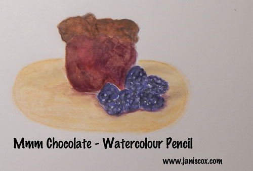 Mmm Chocolate watercolour pencils