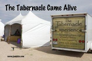 Life Plan Tabernacle Came Alive