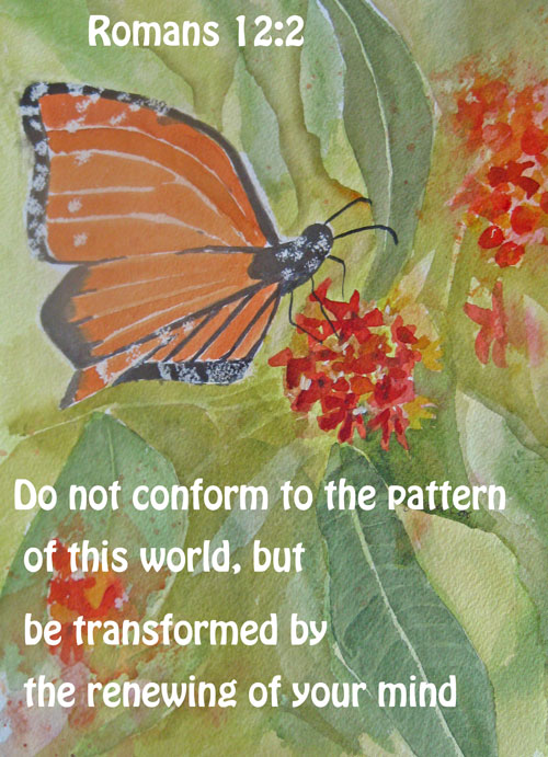 Transformed Romans 12:2