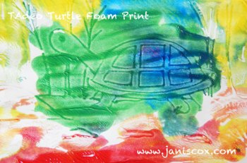 Foam Print Tadeo Turtle part 2