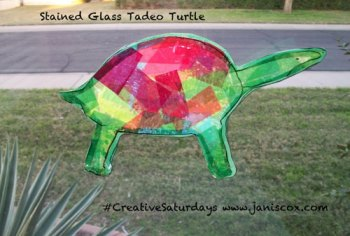 Stained Glass Tadeo turtle