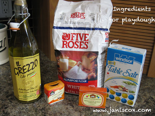 Playdough Ingredients