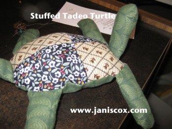 st stuffed-tadeo-turtle