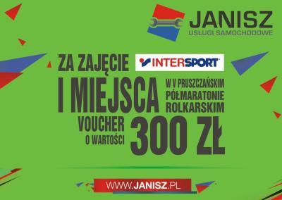 Sportowe emocje na Dni Pruszcza z Grupą JANISZ - voucher