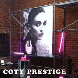 Produktpräsentation Coty Prestige